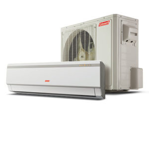 Coleman Ductless Furnace Units