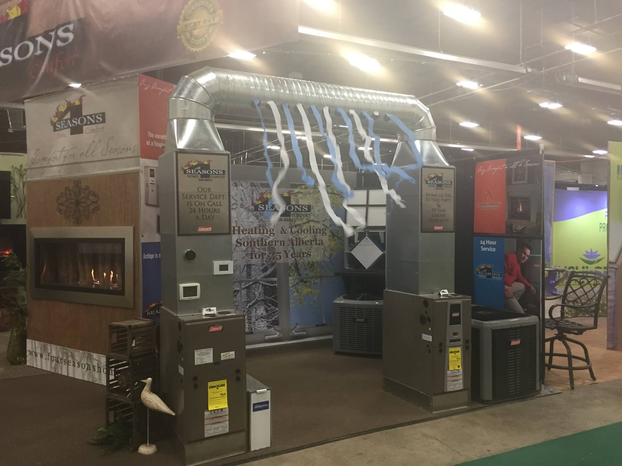 4 Seasons - Commercial HVAC system